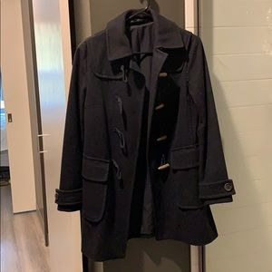 GAP navy wool peacoat